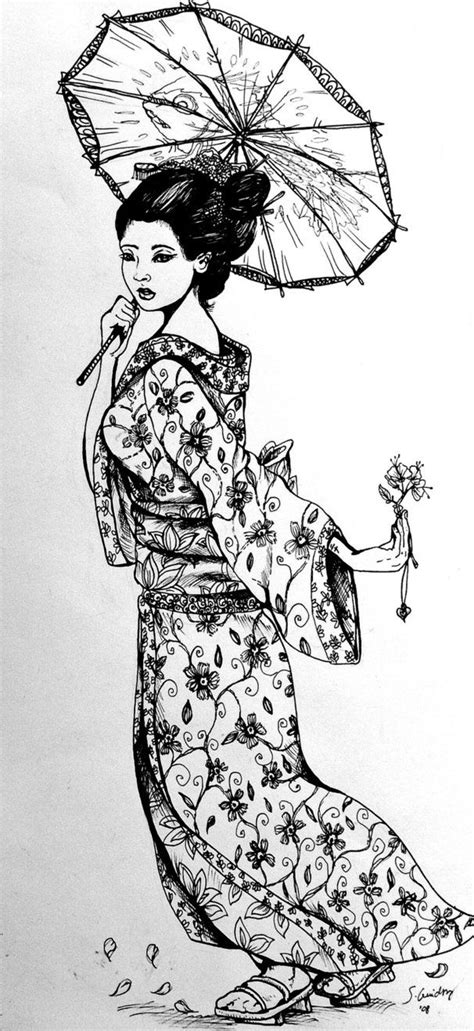 Seeing one of these as my next tattoo | Geisha tattoo design, Japanese geisha tattoo, Geisha drawing