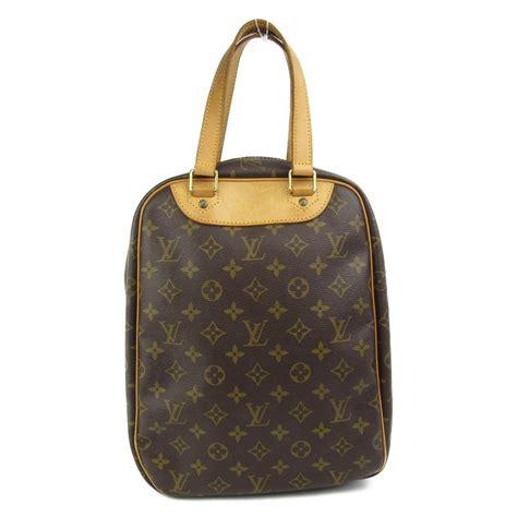 louis vuitton authentic excursion shoe case bag monogram  vintage   brown lyst
