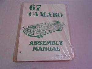 Find 1967 Camaro Assembly Manual Motorcycle In Columbus