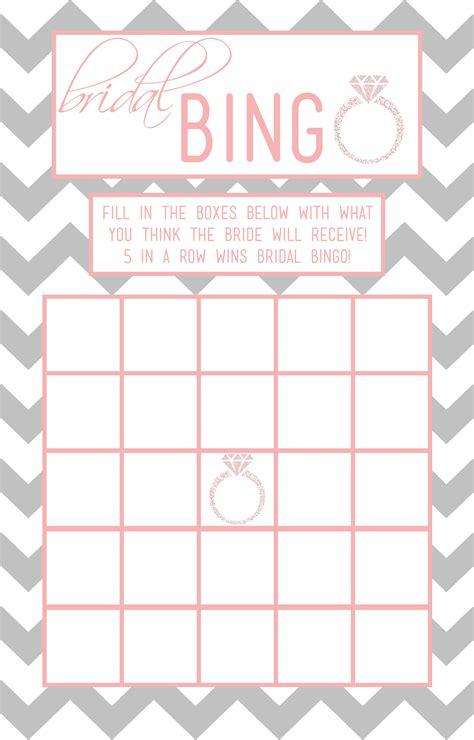 bridal bingo template madinbelgrade