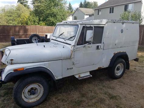 1984 Jeep Alaskan Postal CJ8 Scrambler Overlander in