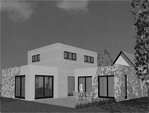 emejing maison moderne carre ideas amazing house design With amazing plan de maison cubique 12 interieure de maison moderne meilleures images d