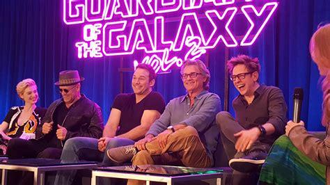 guardians   galaxy vol  meet  cast horsing