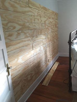 Plywood For Shiplap by Cheap And Easy Diy Shiplap Wall Shiplap Ship Walls