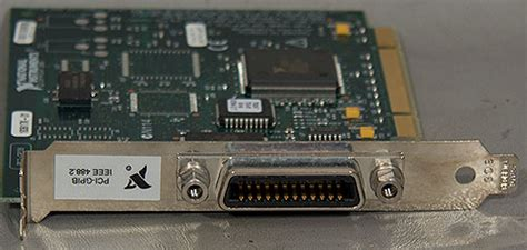 national instruments pci gpib ieee  interface card