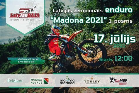 Latvijas čempionāta enduro sezonas atklāšana Madonā - LaMSF.lv