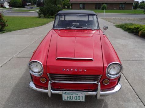 1966 Datsun 1600 Fair Lady For Sale