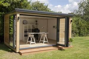 Creating a garden office la blog beaute for Garden office