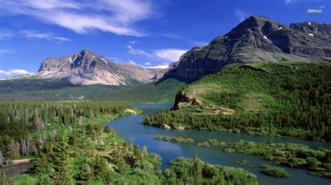 Mountains Hd Widescreen High Res Backgrounds Pictures For
