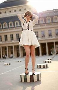 1000 images about french fashion bloggers on pinterest With robe maje blanche