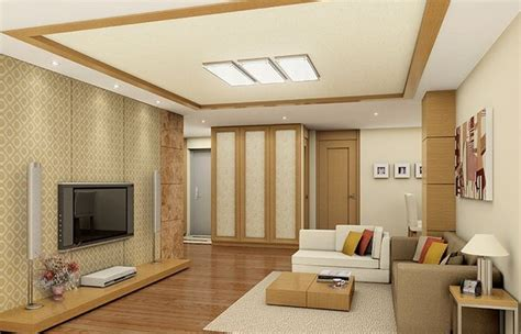 Beautiful Ceiling Interior Design With Modern Decorations