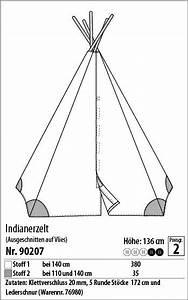 Bauanleitung Tipi Indianerzelt : indianerzelt 90207 stoff stil diy tipi ~ Watch28wear.com Haus und Dekorationen