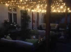 fairylights on trellis gazebo above side return gorgeous gardens lights