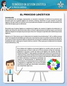 El Proceso Log U00edstico By Sonia Ines Henao Meneses
