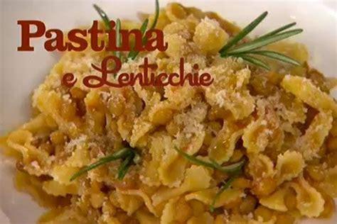 mozzarella in carrozza parodi ricetta pastina e lenticchie i 249 di benedetta