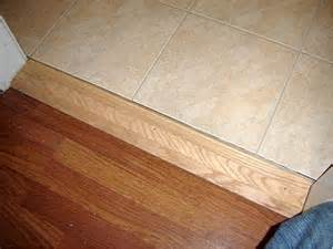 Flooring Transition Strips Wood To Tile by How To Install A Threshold Diy Door Hardware