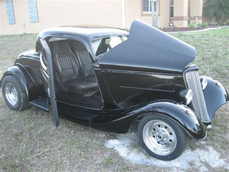 1934 Ford Coupe Suicide Doors