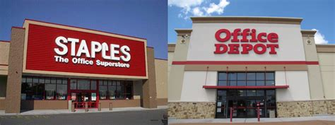 staples to buy office depot canadian office products