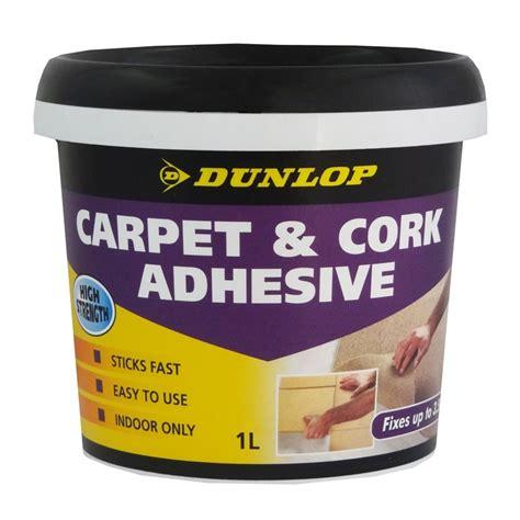 cork flooring adhesive dunlop 1l multipurpose carpet and cork adhesive bunnings warehouse