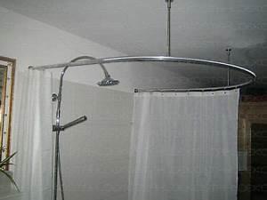 Duschvorhang Befestigung über Eck : winkel duschvorhangstange u form wand deckenbefestigung ebay ~ A.2002-acura-tl-radio.info Haus und Dekorationen