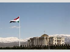 FilePalace of Nations and the Flagpole, Dushanbe
