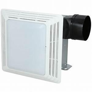 nutone heavy duty 50 cfm ceiling exhaust fan with light With heavy duty bathroom extractor fan