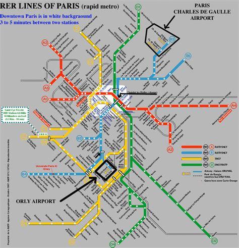Carte Metro Rer B by Plan Rer B Carte The Best Cart