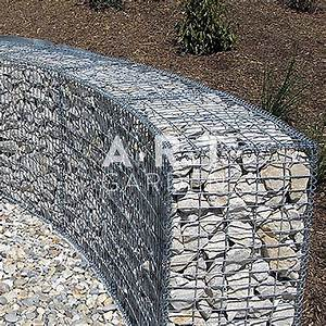 Mur De Cloture En Gabion : galerie photos am nagement ext rieurs ~ Edinachiropracticcenter.com Idées de Décoration
