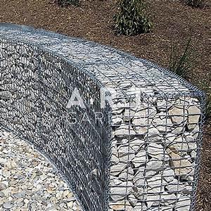 Mur En Gabion : galerie photos am nagement ext rieurs ~ Premium-room.com Idées de Décoration