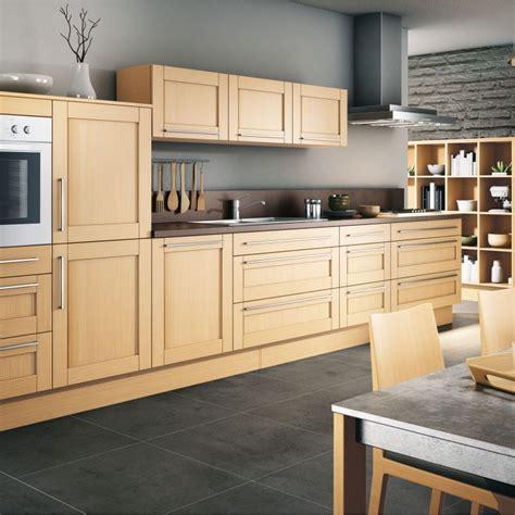 cuisine en longueur tout en bois leroy merlin photo 11 12 un joli mod 232 le de cuisine