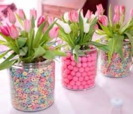 faux floral arrangements 41 easy to make baby shower centerpieces cheekytummy