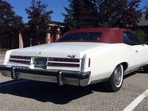 1974 Pontiac Grandville Convertible  New Top And Paint For