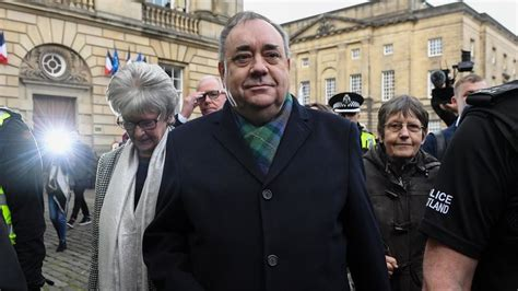 Former first minister Alex Salmond in the dock on ...