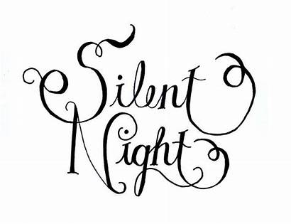 Silent Night Holy Christmas Templates Clip Pillow