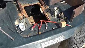 Changing Starter Solenoid On Lawn Tractor July 1  2017