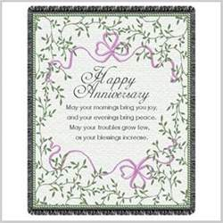 wedding card blessings anniversary blessing throw