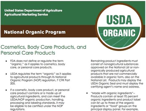 Modified Product Definition by Usda Organic Definition Bau Malaysia