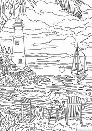 Best Lighthouse Coloring Page - ideas and images on Bing | Find what ...