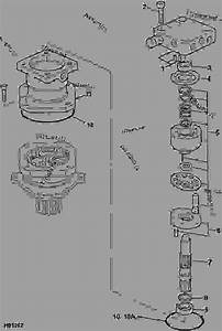Motor  Slew - Construction Jcb 801 4