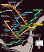 Montreal Metro Map - Montreal Travel Guide