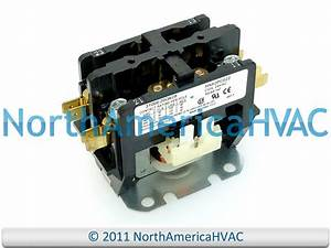 Carrier Bryant Contactor Relay 2p Hn52dc031 Hn52kc024