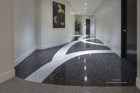 Terrazzo Flooring Is Elegant & Durable
