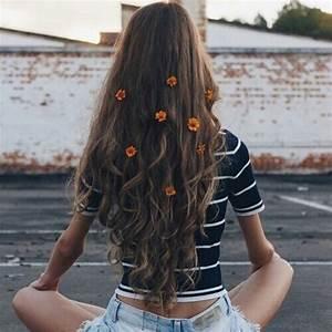 flowerchild, hair, tumblr, instagram ideas - image ...