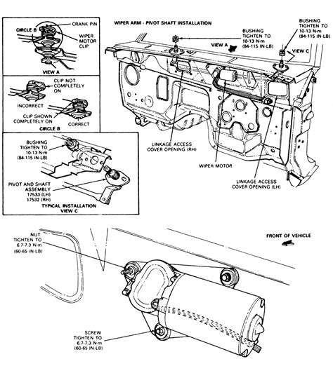 repair windshield wipe control 2005 ford f350 auto manual ford ranger windshield wiper motor wiring diagrams wiring diagram schemes