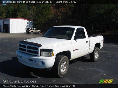 1998 Dodge Ram 1500 Sport by Bright White 1998 Dodge Ram 1500 Sport Regular Cab 4x4