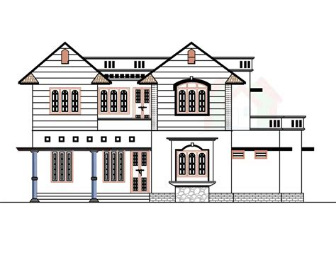 plan of house 2226 sq ft house design with kerala house plans