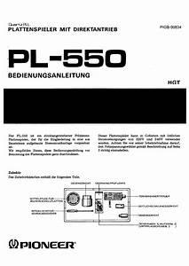 Pioneer Pl-550