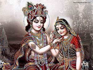 Bhakti Wallpaper — Radha Krishna