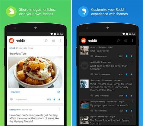 reddit app android official reddit apps for iphone and android available to