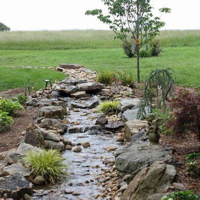 how to make a water bed dry river beds or water features on pinterest dry creek